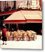Fouquets Of Paris 1955 Metal Print