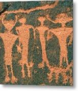 Four Anasazi Metal Print