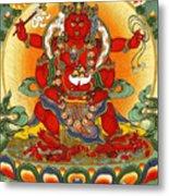 Four Armed Dzambhala Metal Print