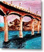 Four Bears Bridge Metal Print