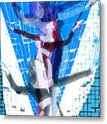 Four Blue Angels Metal Print