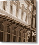 Four Corners In New Orleans Metal Print