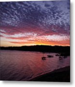Four Elements Sunset Sequence 1 Coconuts Qld  Metal Print