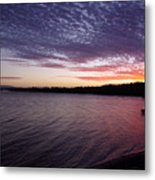 Four Elements Sunset Sequence 4 Coconuts Qld  Metal Print