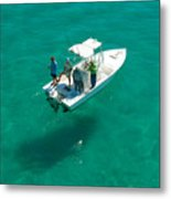 Four Fishermen Metal Print