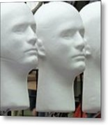 Four Heads Are Better Than One Metal Print