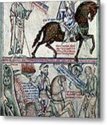 Four Horsemen Metal Print