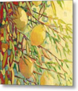 Four Lemons Metal Print by Jennifer Lommers