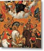 Four Military Saints Metal Print