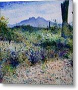Four Peaks Phoenix Arizona Usa 2003  Metal Print