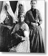Four Women From Bethlehem Metal Print