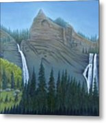 Fourmile Falls And Fall Creek Falls Metal Print