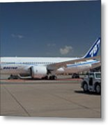 Fourth Boeing 787 Prototype Mesa Gateway Arizona Metal Print
