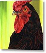 Fowl Emperor Metal Print
