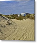 Fowler Shack Approach Metal Print