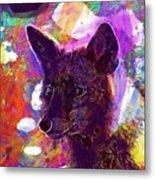 Fox Animal Tuscany  Metal Print