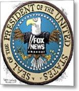 Fox News Presidential Seal Metal Print