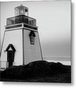 Fox Point Lighthouse Metal Print