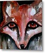 Fox Shadow Magic Metal Print