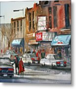 Fox Theater - Steven's Point Metal Print
