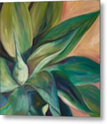 Foxtail Agave 4 Metal Print by Athena  Mantle
