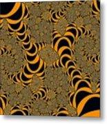 Fractal Abstract Metal Print