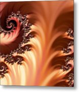 Fractal Desert Metal Print