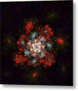 Fractal Floral 02-12-10-a Metal Print