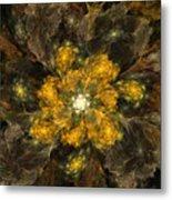 Fractal Floral 02-12-10 Metal Print