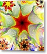 Fractal Garden 9 Metal Print