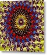 Fractal Outburst Catus 1 No. 10 -sunsettia For Lea V A Metal Print