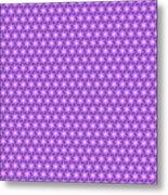 Fractal Pattern 300 Metal Print