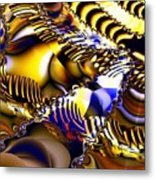 Fractal Structures Metal Print