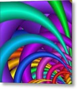 Fractalized Colors -6- Metal Print by Issabild -