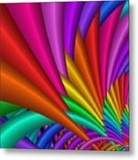 Fractalized Colors -7- Metal Print