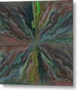 Fractured Frenzy Metal Print