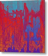 Fractures Version 1 Metal Print