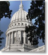 Framed Capitol Metal Print