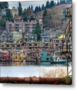 Framed In Seattle Metal Print by Spencer McDonald