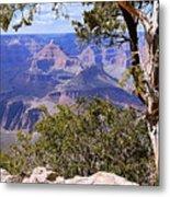 Framed View - Grand Canyon Metal Print