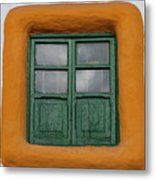 Framed Window Metal Print