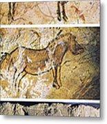 France And Spain: Cave Art Metal Print