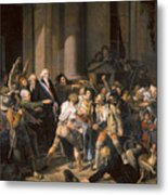 France: Bread Riot, 1793 Metal Print