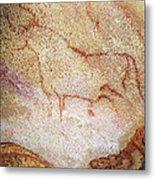 France: Cave Art Metal Print
