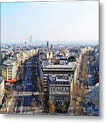 France Montmartre Paris Metal Print