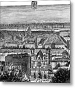 France, View Of Lyon, C1894 - To License For Professional Use Visit Granger.com Metal Print