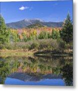 Franconia Autumn Reflections Metal Print