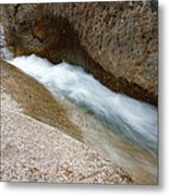 Franconia Falls - Lincoln New Hampshire Usa Metal Print