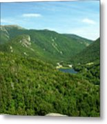Franconia Notch Metal Print
