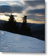 Franconia Notch State Park - Lincoln New Hampshire Usa Metal Print